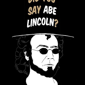 Men In Tights - Abe Lincoln by CUNRVA