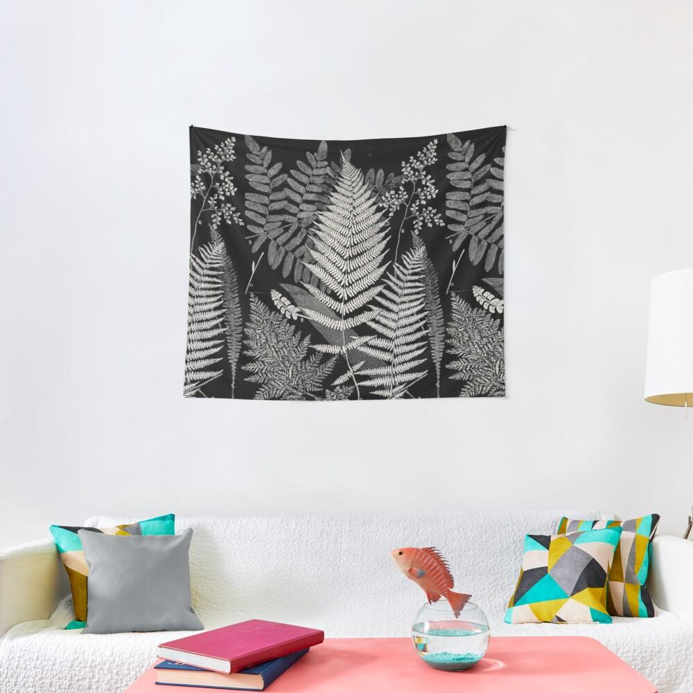 Botanical Ferns Tapestry