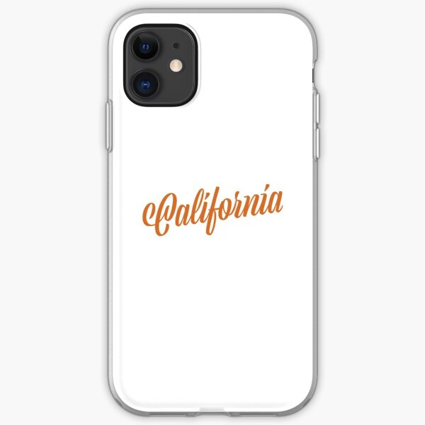 California iPhone Soft Case