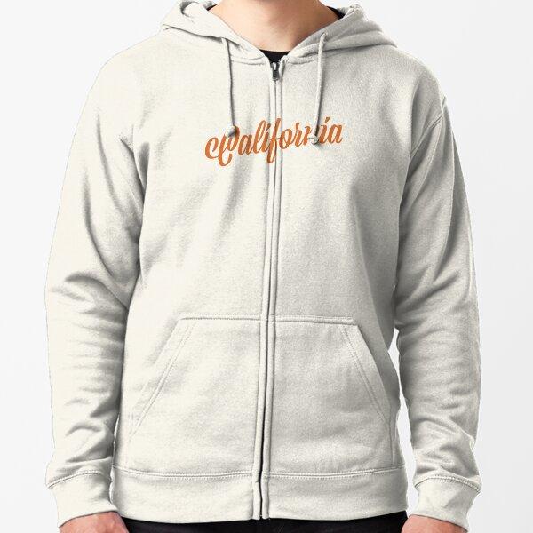 California Zipped Hoodie