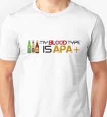My Blood Type is APA T-Shirt