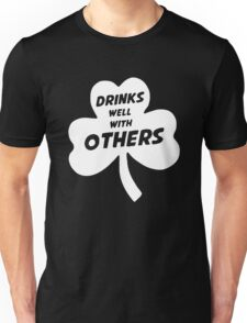 Drinks Well With Other Unisex T-Shirt