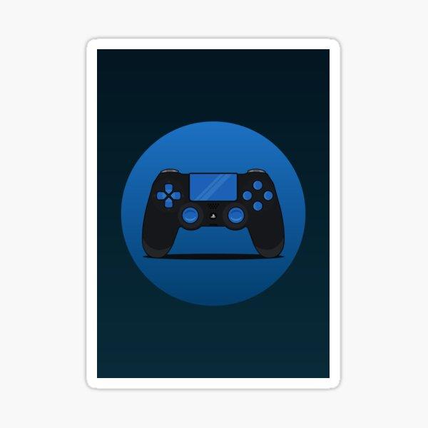 Gaming Controller Illustration Sticker