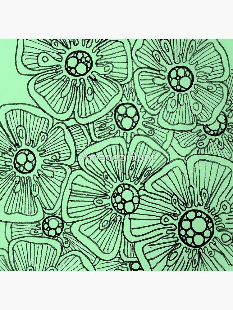 Hibiscus in Mint by KeLu