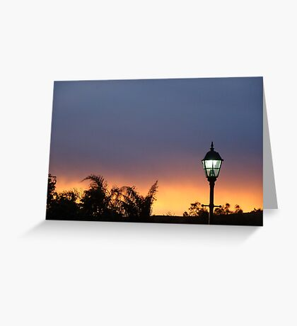 Light my way Greeting Card