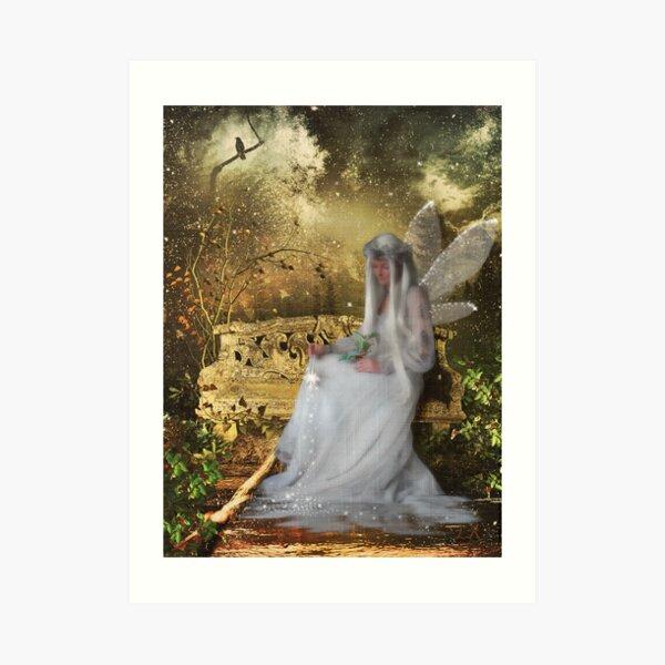 A Fairys Christmas Art Print