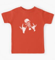Devil Horns (White Version) Kids Tee