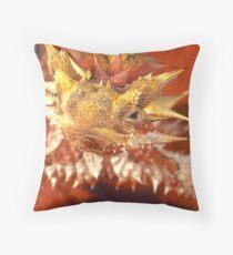Thorny Devil, Simpson Desert Throw Pillow