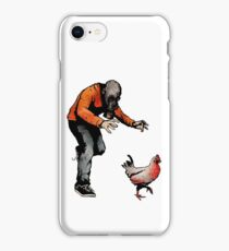 LEROY VS THE EVIL ZOMBIE CHICKEN! iPhone Case/Skin