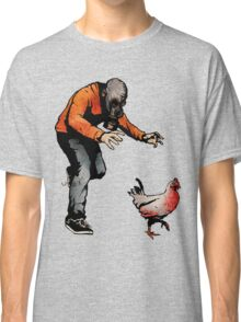 LEROY VS THE EVIL ZOMBIE CHICKEN! Classic T-Shirt