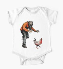 LEROY VS THE EVIL ZOMBIE CHICKEN! One Piece - Short Sleeve