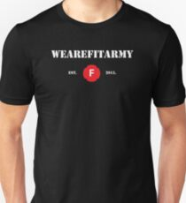 WAFA Fitted T-Shirt in Black/White/Red T-Shirt