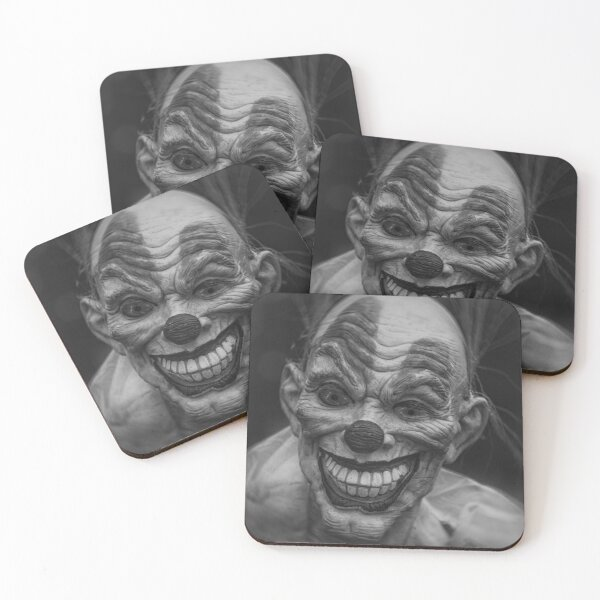 Clown Coasters (Set of 4)