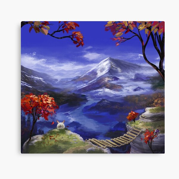 Chrono Trigger: Mountains're Nice Lienzo