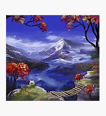 Chrono Trigger: Mountains're Nice Photographic Print