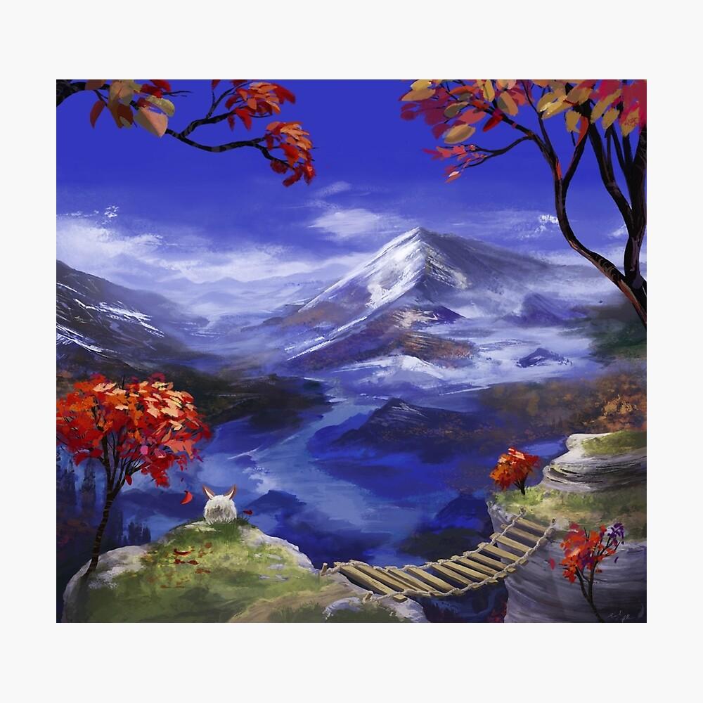 Chrono Trigger: Berge sind Nizza Fotodruck