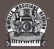 Musician Reunion Logo T-Shirt