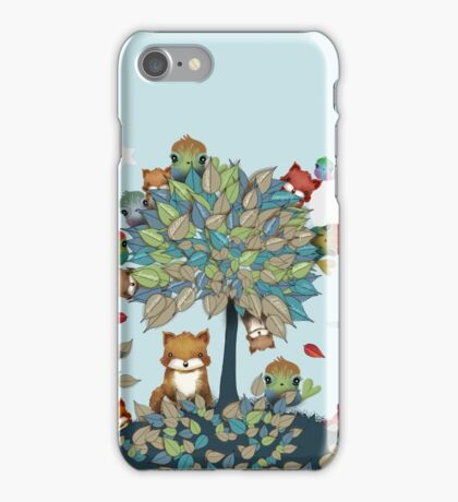 The Friendship Tree iPhone Case/Skin