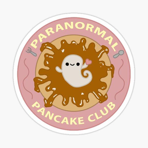 Paranormal Pancake Club Logo Sticker