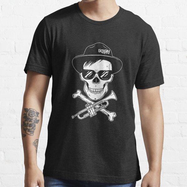 Timmy T-shirt Noir Crâne T-shirt essentiel