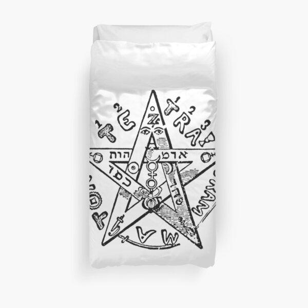 #Pentagram of #Eliphas #Levi #EliphasLeviPentagram Duvet Cover