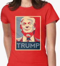 trump Women's Fitted T-Shirt