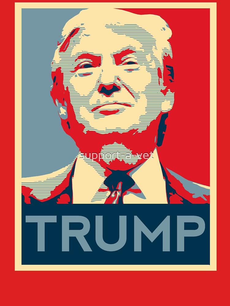 TShirtGifter presents: trump | Unisex T-Shirt