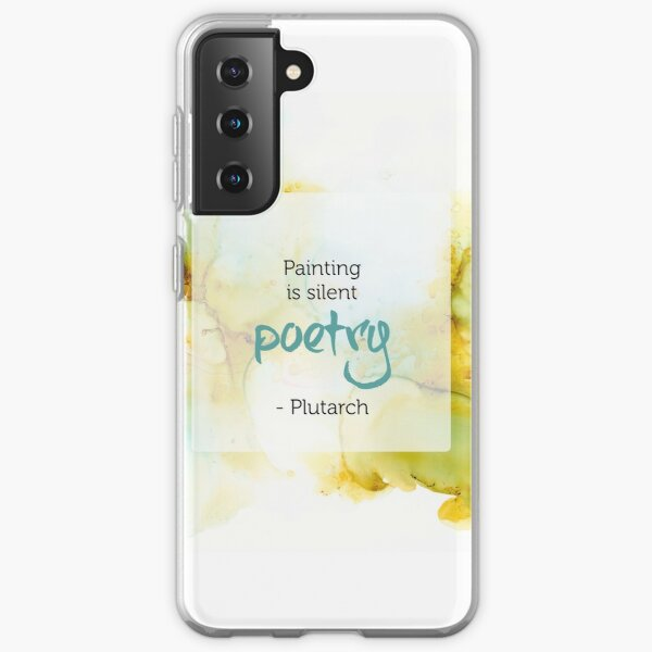 Inspirational Quote - Alcohol Ink Samsung Galaxy Soft Case