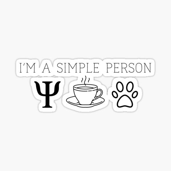 Psychology Lover Sticker