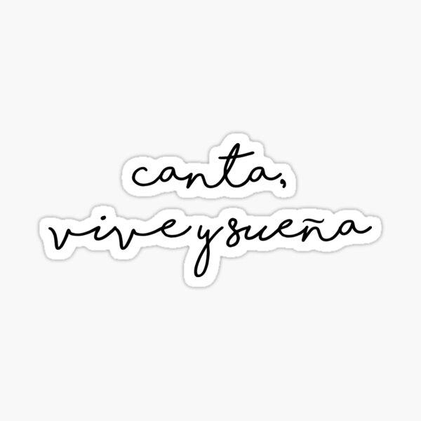 Canta, Vive y Sueña Juan Gabriel Pegatina