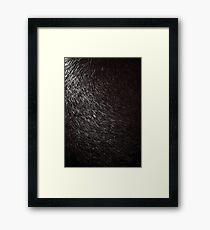 Snowstorm in November Framed Print