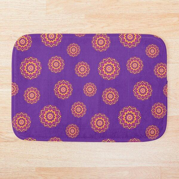 Pink and Purple Mandala Bath Mat
