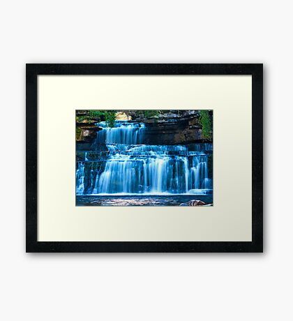 A closer view of Cotter Force Framed Print