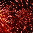 Fireworks 7 by Yvonne Carsley