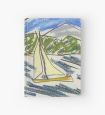 View from Nielsen Park (Sydney Harbour) IV (2015) drawing by artcollect Hardcover Journal