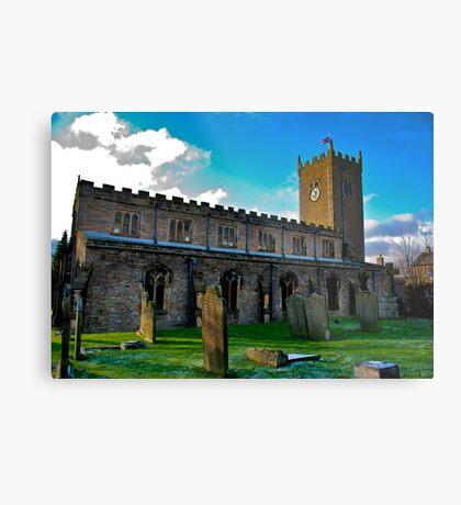 St Oswald's Church - Asgrigg Metal Print