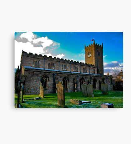 St Oswald's Church - Asgrigg Canvas Print