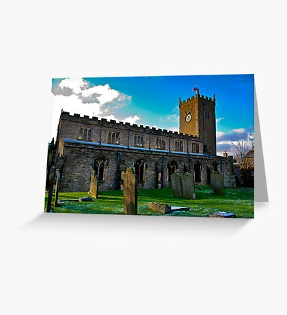 St Oswald's Church - Asgrigg Greeting Card