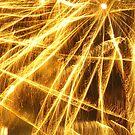 Fireworks 9 by Yvonne Carsley