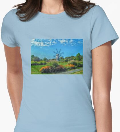 Boyd's Wind Grist Mill in Middletown, Rhode Island T-Shirt