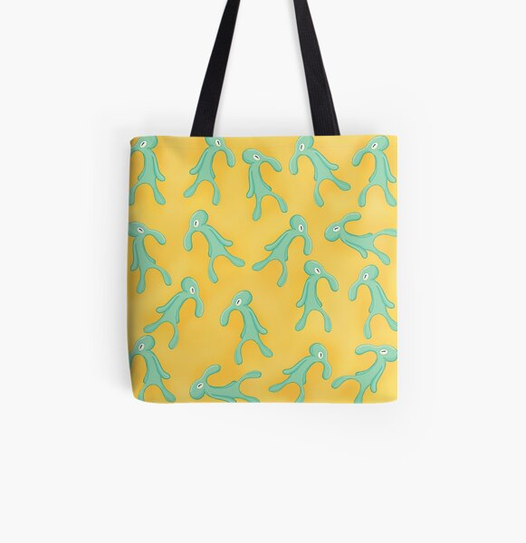 Bold and Brash pattern All Over Print Tote Bag