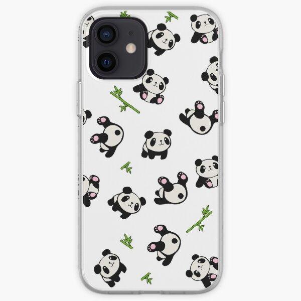Panda pattern iPhone Soft Case