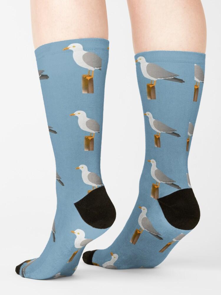 Alternate view of Seagull Socks