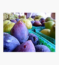 Fresh Figs Photographic Print