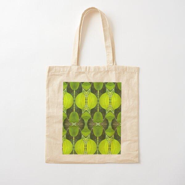 il lusso del verde Cotton Tote Bag