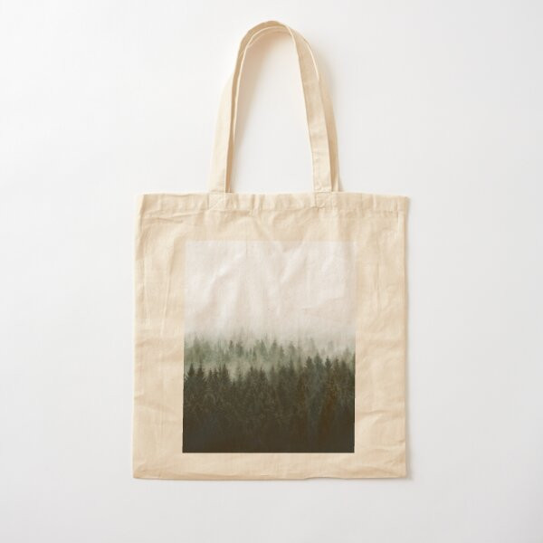 High And Low Cotton Tote Bag