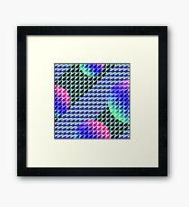Jokerneon S-type Blade Globe Seamless Pattern Framed Print