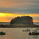 Sunset, Jonesport, Maine by fauselr