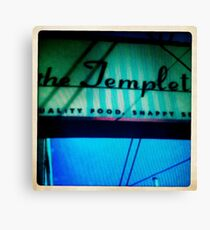 The Templeton Canvas Print