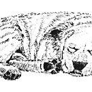 Let Sleeping Dogs Lie - Mugs by EuniceWilkie